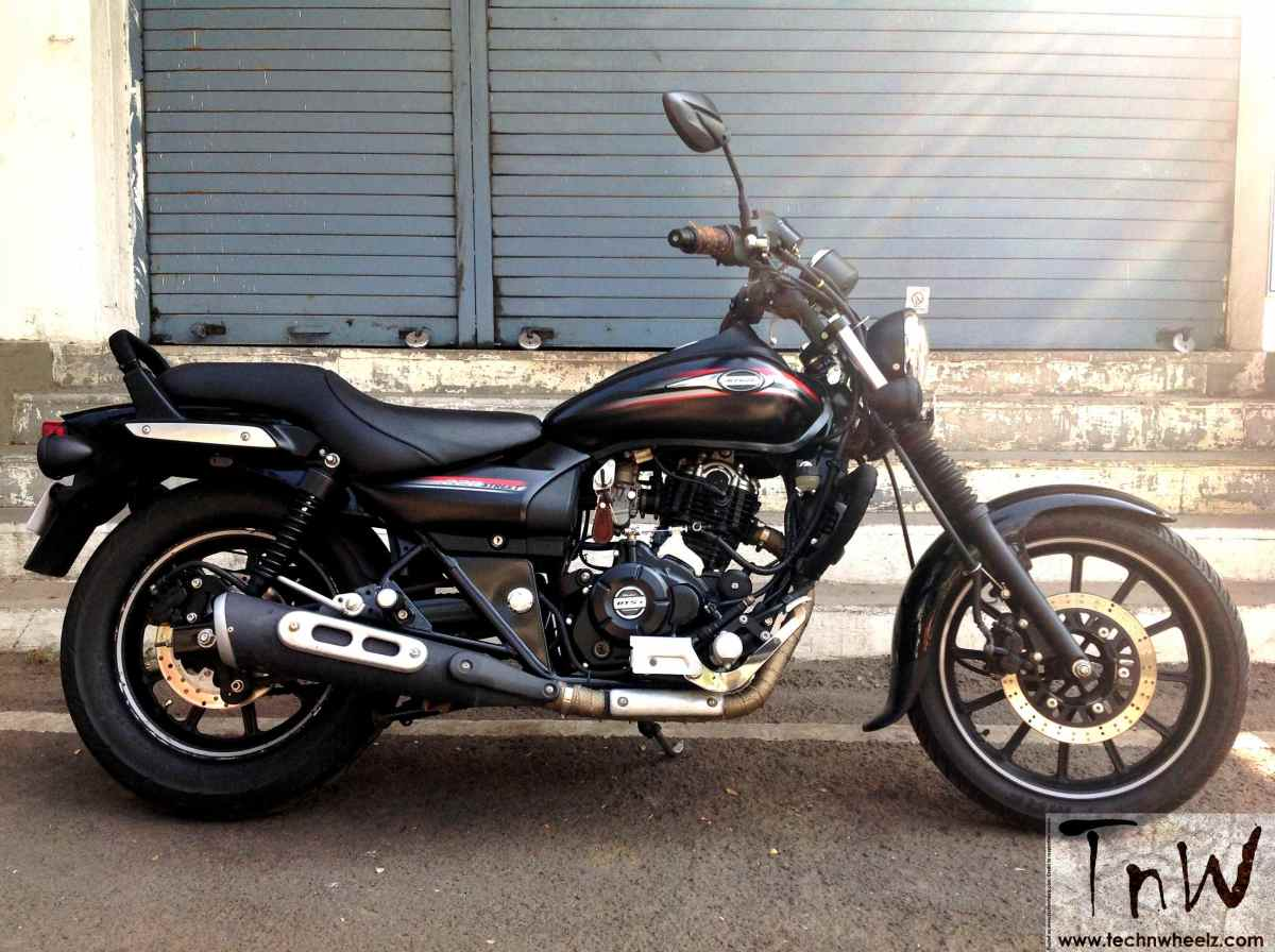Bajaj Avenger Street 220 Gets Rear Disc And Hydraulic