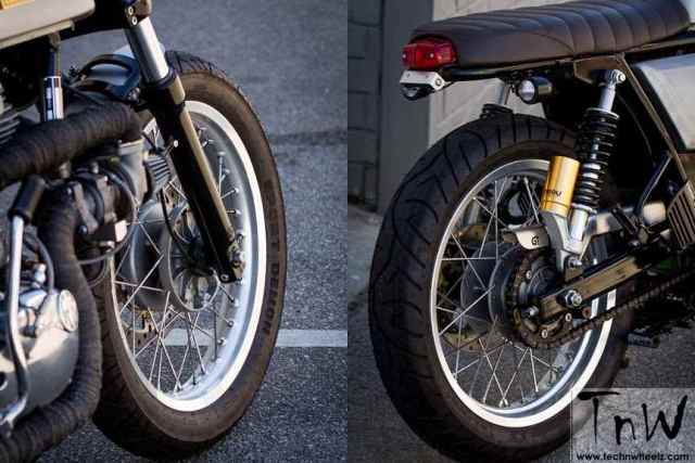 Royal Enfield Continental GT turbocharged