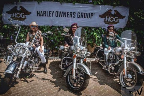 Ladies of Harley (LOH) gears up for their first official ride on May 26, 2017