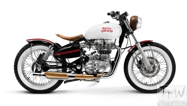 Royal Enfield ties up with custom-builders. Four custom-built motorcycles revealed