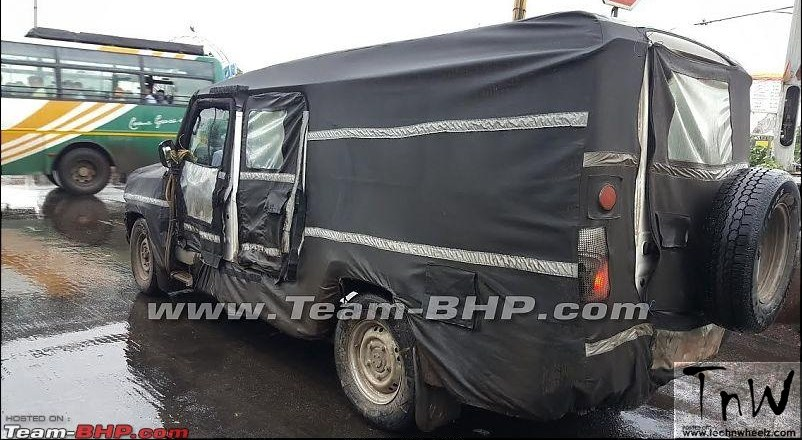 Next generation Force Motors Trax Cruiser / Toofan spied testing