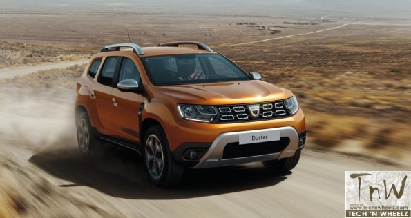 All New Dacia / Renault Duster revealed. 2017 Frankfurt Show unveil