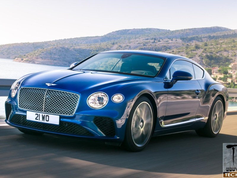 Bentley unveils the 3rd generation Continental GT
