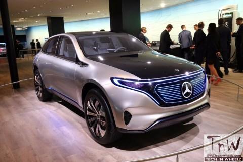 2017 Frankfurt Motor Show: Mercedes-Benz Concept EQA
