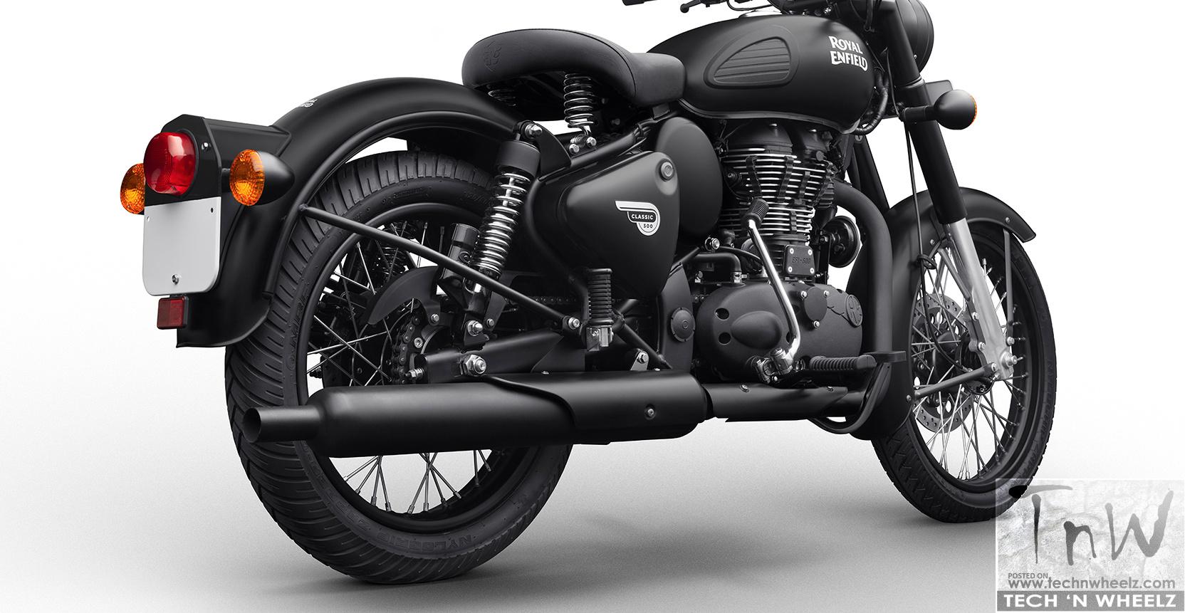 Classic Stealth Black 500 4 Tech N Wheelz