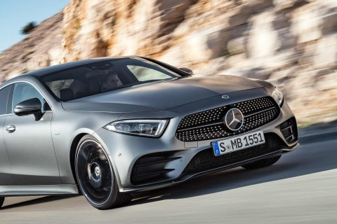 2018 3rd-gen Mercedes CLS revealed at the LA Auto Show