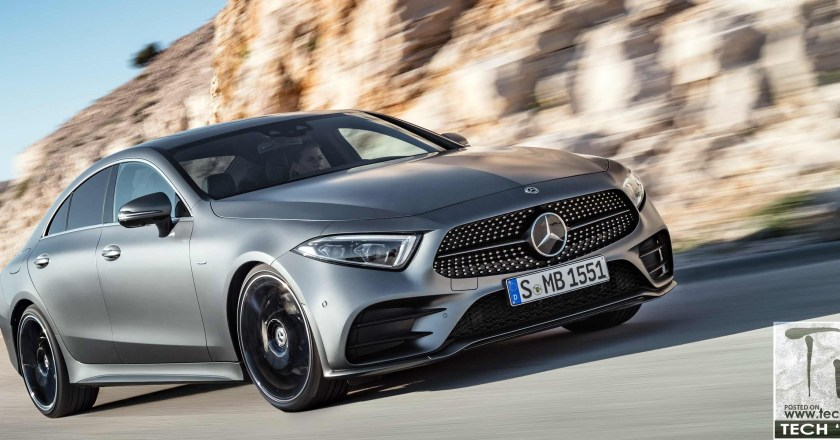 2018 3rd-gen Mercedes CLS revealed at the LA Auto Show
