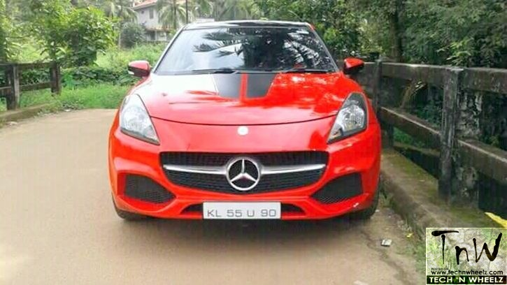 The story behind why cops seized Mercedes A-Class look-alike Baleno in Kerala
