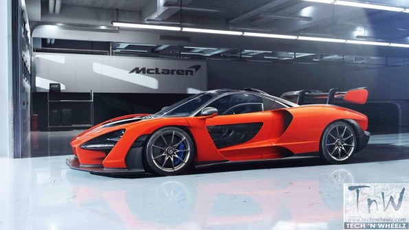 THE SENNA is the most extreme McLaren road-legal track car yet