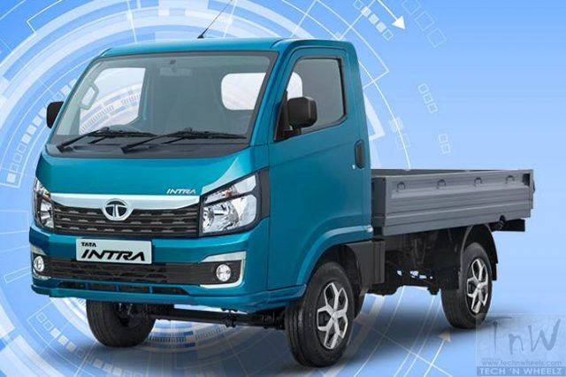Tata Intra 1.1 SCV unveiled. Features new platform & design philosophy