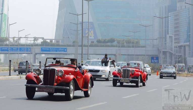 Exclusive MG car owners meet & drive organised