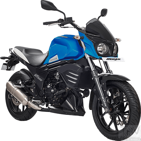Mahindra Mojo UT 300 launched. Its carburetted !!