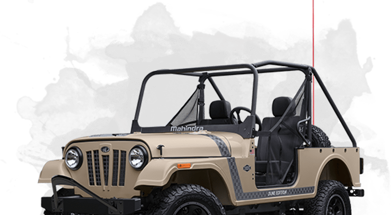 Mahindra Thar inspired Roxor off-road only SUV unveiled in USA