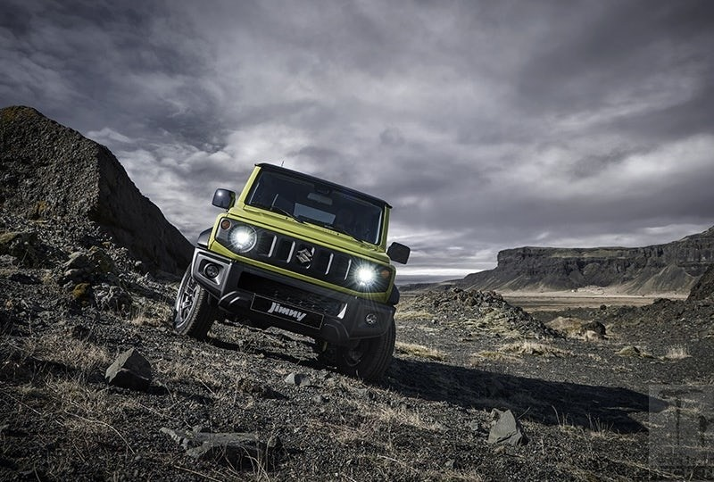 Suzuki's mini-4×4 Jimny can go anywhere
