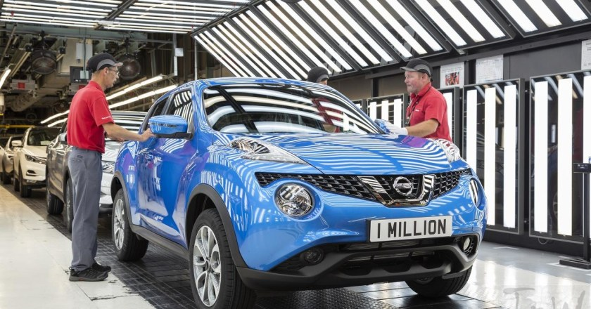 Nissan Juke hits one million. Rolled off at Sunderland Plant.