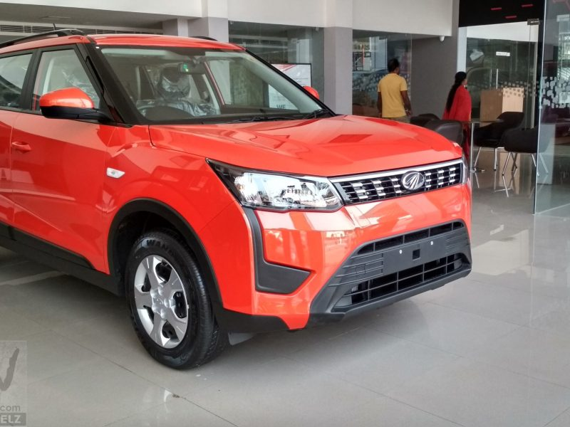 Image Gallery: Mahindra XUV300 W6 in Sunburst Orange Colour