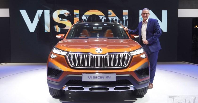 Škoda Vision IN world premiere at the Auto Expo 2020