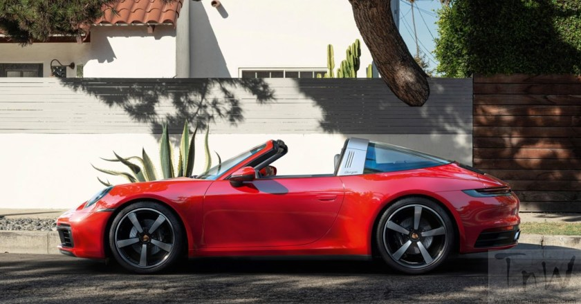 2021 Porsche 911 Targa makes its debut with all-wheel drive