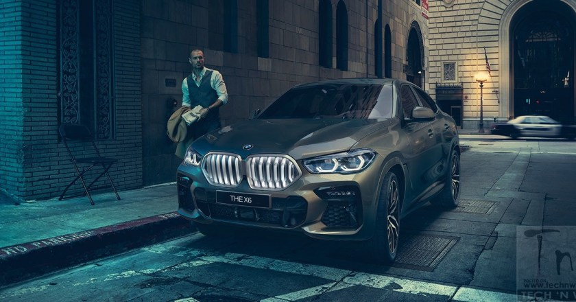 2020 BMW X6 performance luxury SUV launched