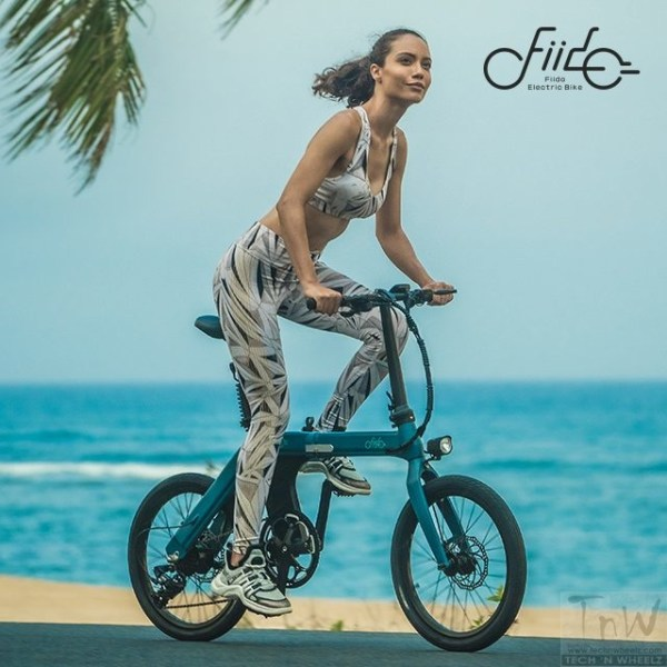 FIIDO D11 foldable eBike with 100km range announced