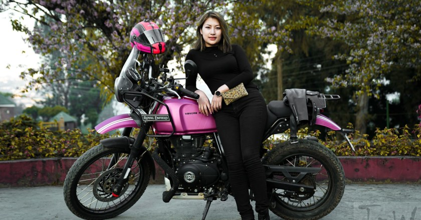 World Women Bikers: Onenienla Imsong from Nagaland and her motorcycling stories