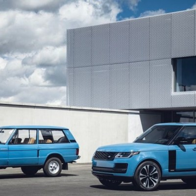 Range Rover 50th anniversary edition revealed. Limited to 1970 units