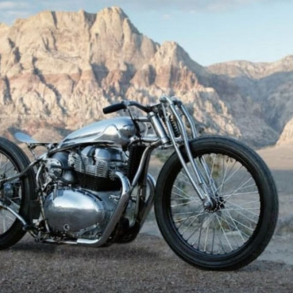 Royal Enfield 'Kamala' is custom Continental GT 650 by Sosa Metalworks