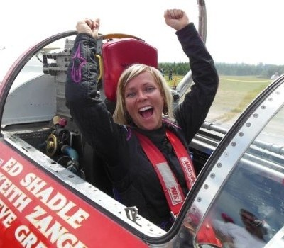Jet-car racer Jessi Combs is The World's Fastest Woman – Guinness World Records