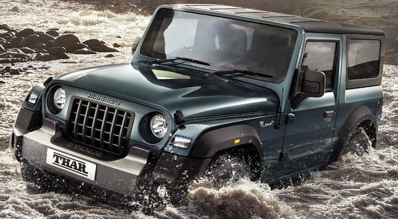 All New Thar prices out. Starts under INR 10 lakh; tops off under INR 13 lakh