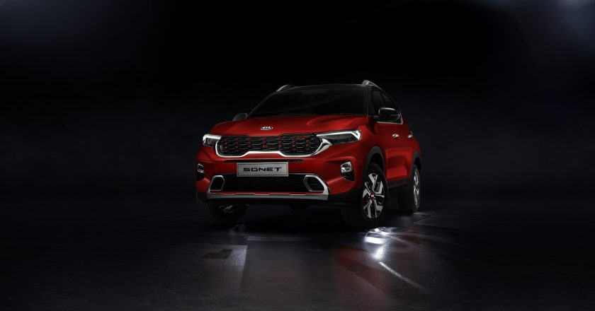 Kia Sonet launched. Prices start at INR 6.71 lakh