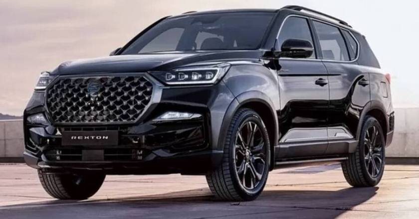 2021 SsangYong Rexton G4 leaked ahead of global unveil