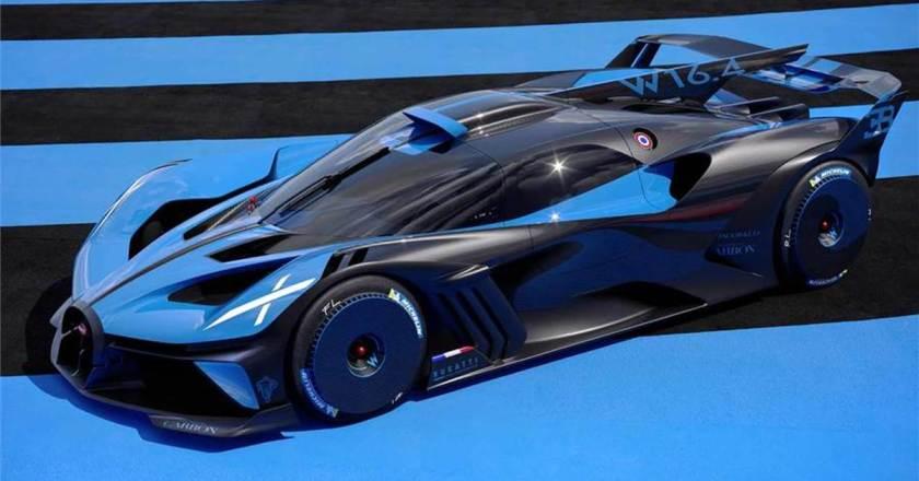 Bugatti Bolide unveiled. 1240kg hypercar does 500.50kph
