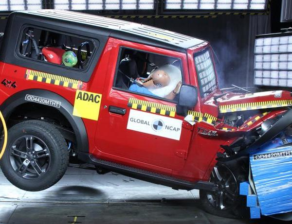 4 Star for Thar in Global NCAP crash test