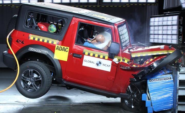 4 Star for Thar in Global NCAP crash test