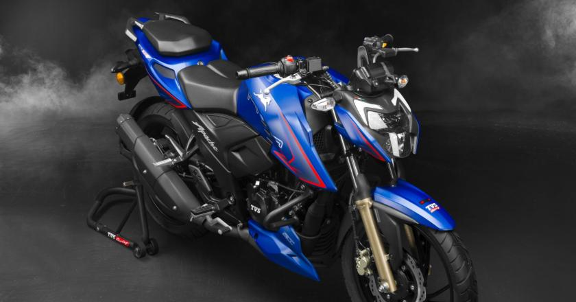 New TVS Apache RTR 200 4V launched. Its feature loaded