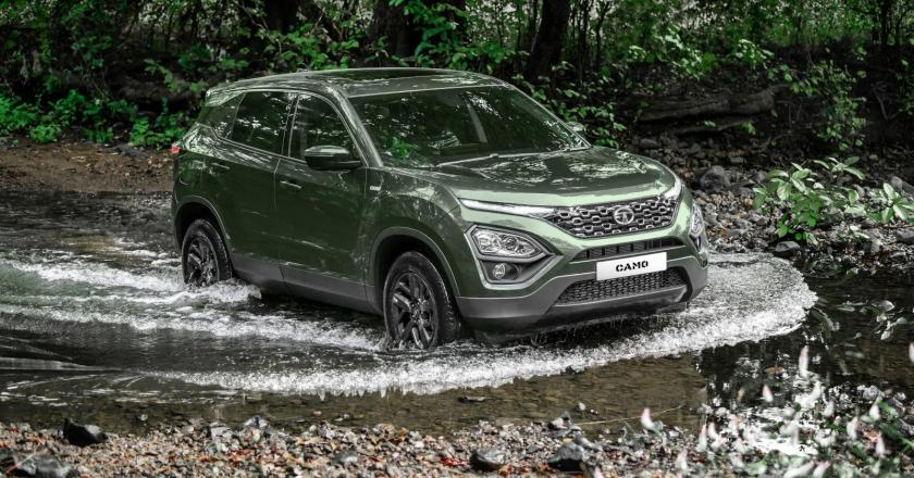 Tata Harrier Camo Edition launched. Prices start at INR 16.50 lakh