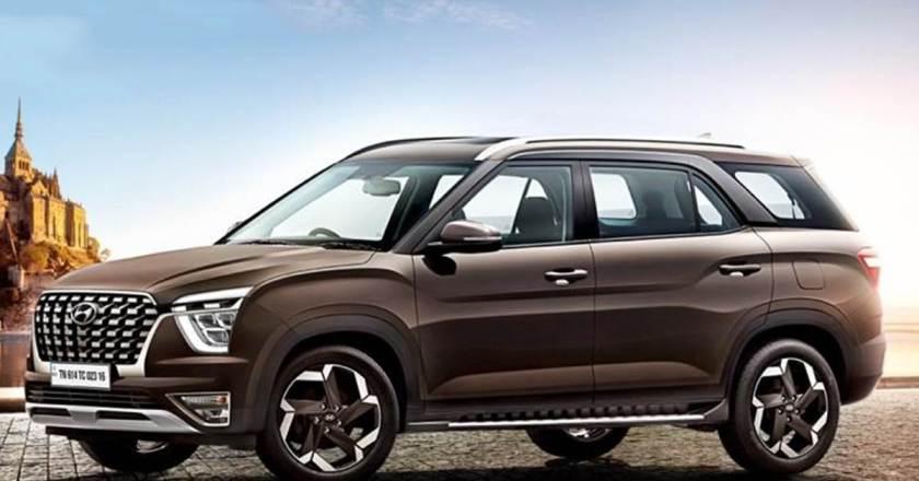 Hyundai Alcazar SUV production-spec revealed