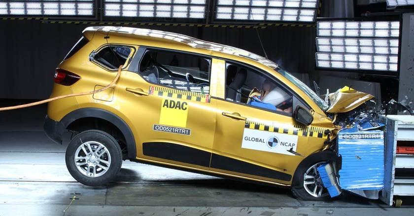 Renault Triber scores 4 Star Global NCAP safety rating