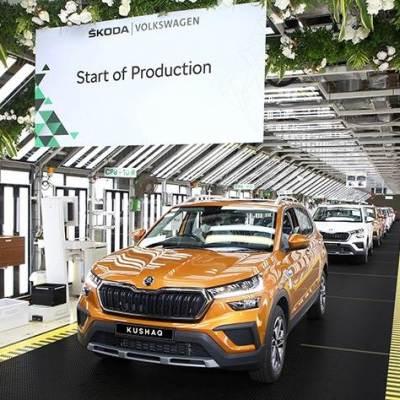 Skoda Kushaq India production begins. Launch soon