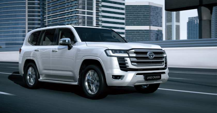 2022 Toyota Land Cruiser LC300 revealed with twin-turbocharged V6 engines