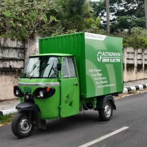 Altigreen's electric cargo 3-wheeler now available in Delhi