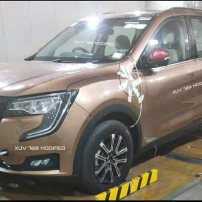Mahindra XUV700 leaked before launch