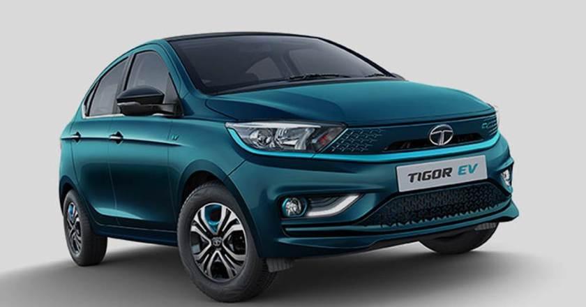 2021 Tata Tigor EV launched with 306km range. Scores 4 Star GNCAP rating