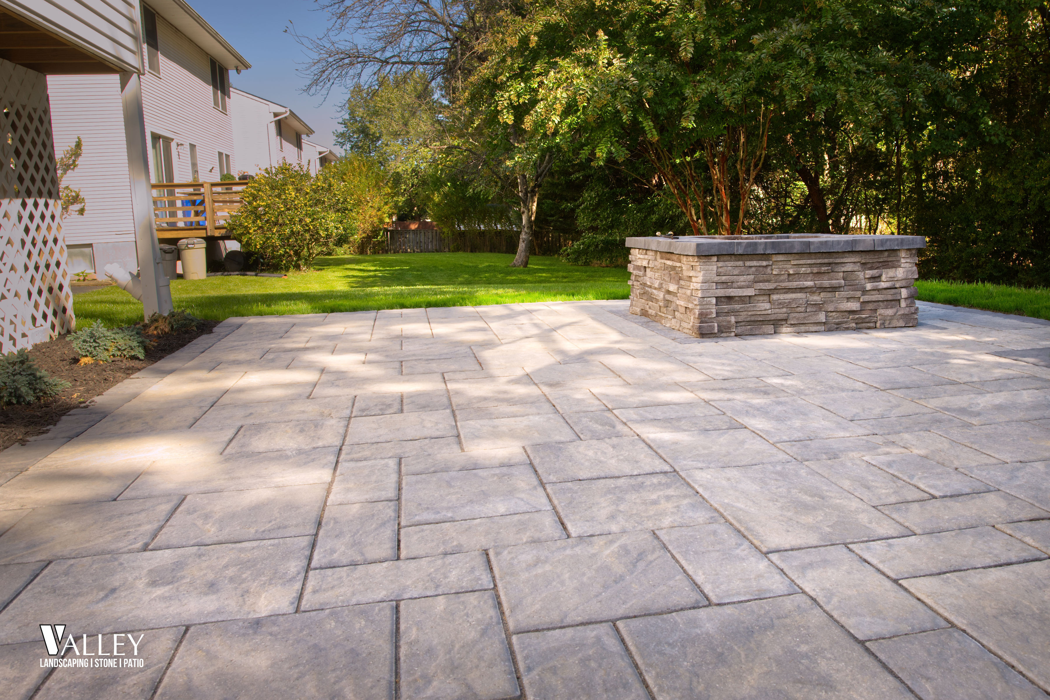valley landscaping stone patio pro