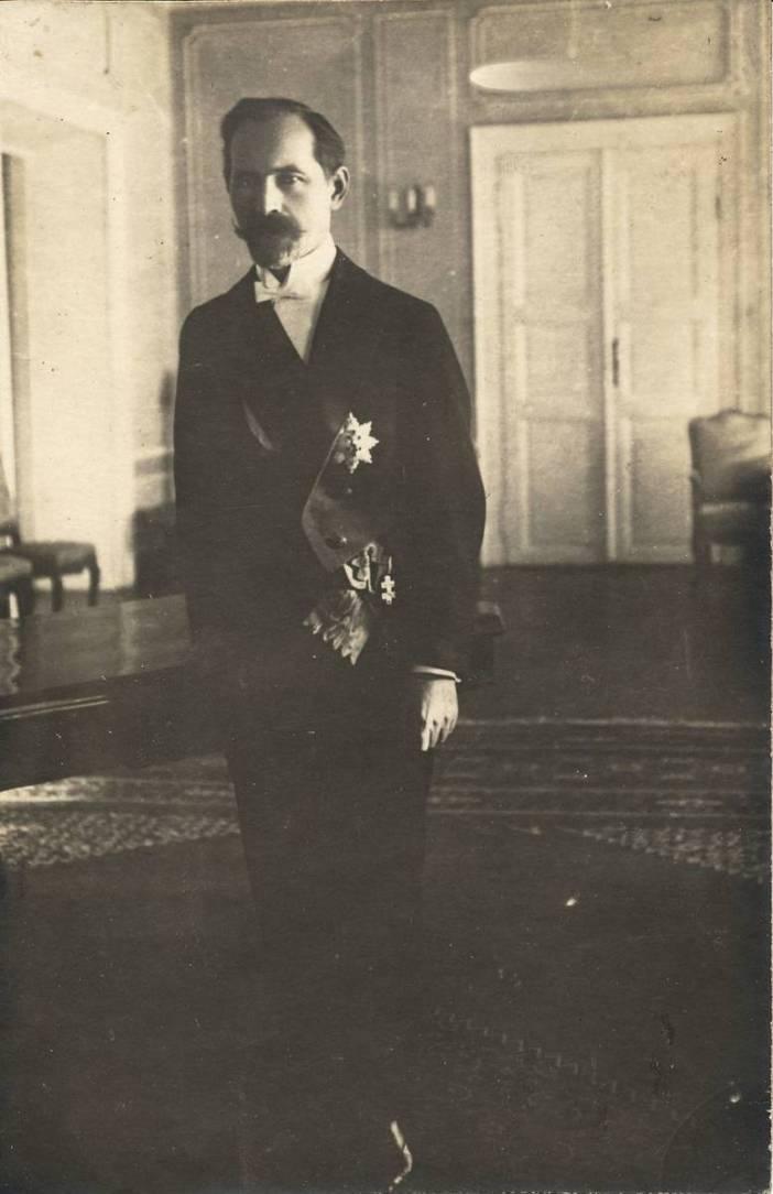 Antanas Smetona, 1927 - Alytaus krašto muziejus