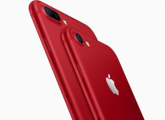 The iPhone 7 and iPhone 7 Plus RED Special Edition will be available in 128GB and 256GB models starting at $749 (US) from apple.com and Apple Stores, and from Apple Authorized Resellers and select carriers. (Photo/Apple Inc.)