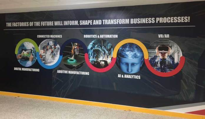 Tech Mahindra says that the lab will showcase products built in association with many leading software and hardware vendors. (Photo/Tech Mahindra)
