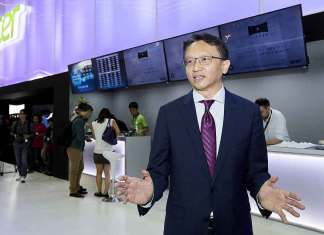 Acer Corporate President and CEO Jason Chen during Computex 2017 (Photo/Acer)