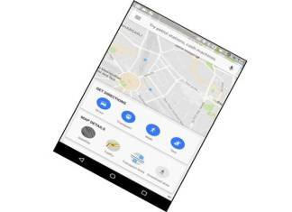 Google said that it is making sure the new home screen loads fast – so that millions of people in India coming online can share great places, even on spotty connections. (Photo/Google India)