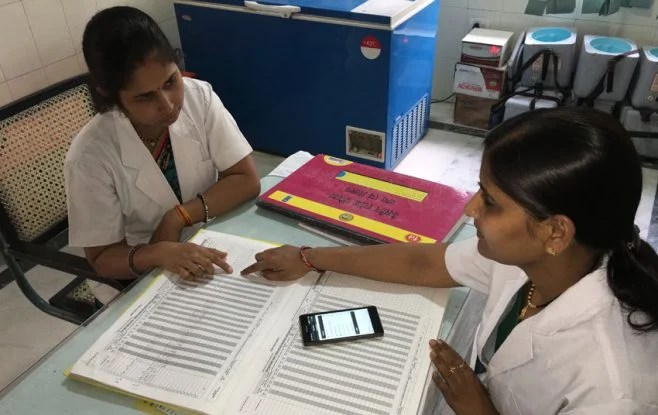 India's electronic vaccine intelligence network project also known as eVIN project has won the attention five countries (Photo/UNDP)